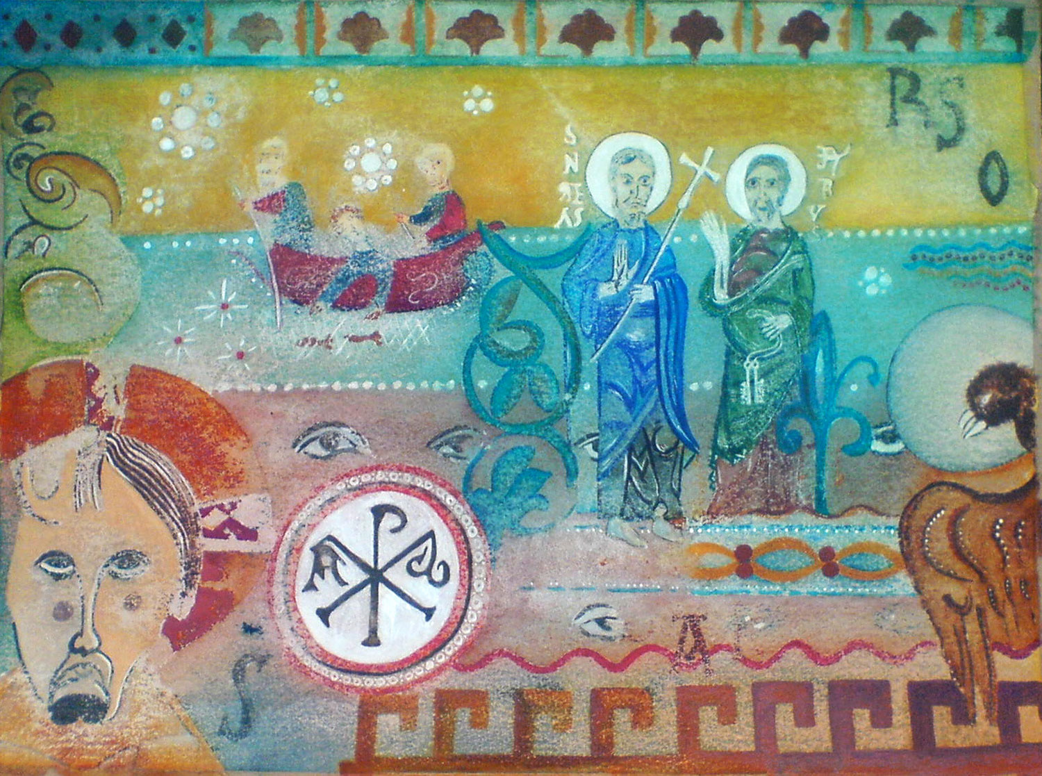 painting-6-romanesque-icons